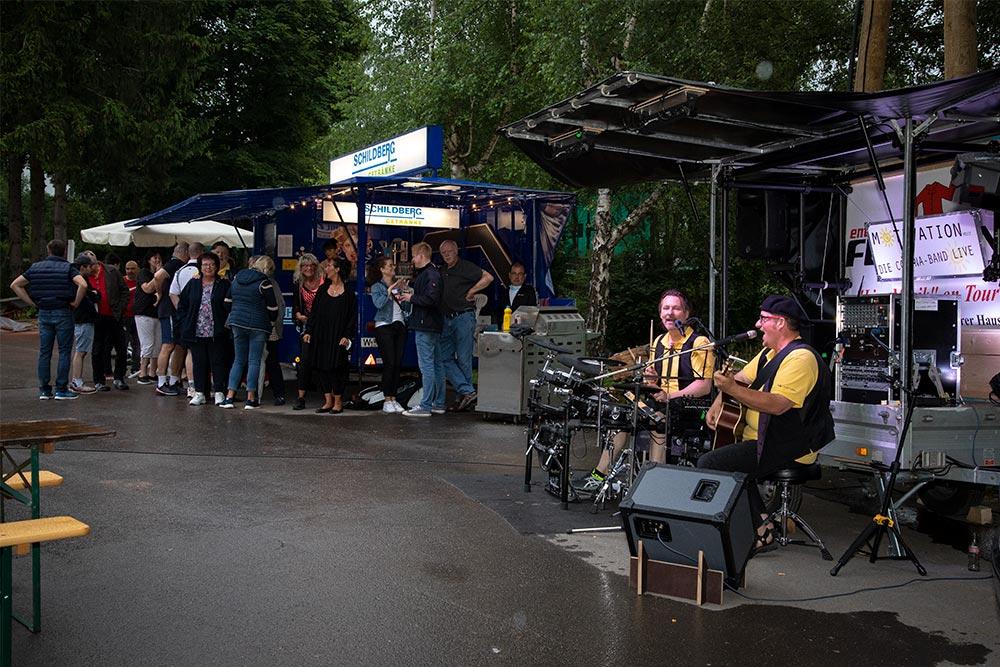 Corona Band UTC Wuppertal